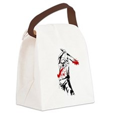 Kill The Zombies Canvas Lunch Bag
