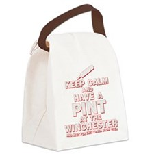 Keep Calm And Have A Pint Canvas Lunch Bag