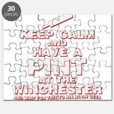 Keep Calm And Have A Pint Puzzle