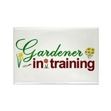 Gardener in Training Rectangle Magnet