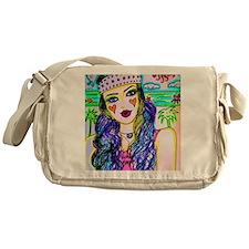 Hippie Girl Messenger Bag