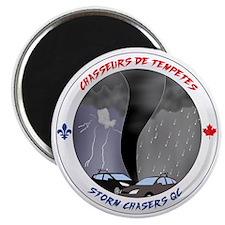 Logo Chasseurs de Tempetes Magnet