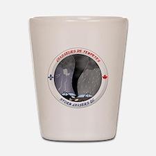 Logo Chasseurs de Tempetes Shot Glass