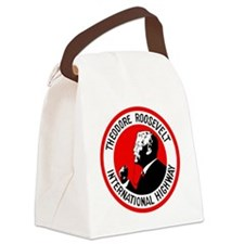 Theodore Roosevelt Highway Canvas Lunch Bag
