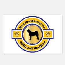 Norrbottenspets Walker Postcards (Package of 8)