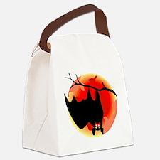 00166_Bat198.gif Canvas Lunch Bag