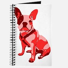 Bulldog Retro Dog Journal