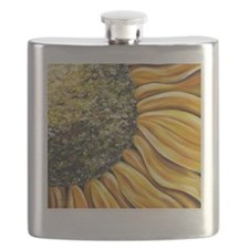 Himawari post card Flask