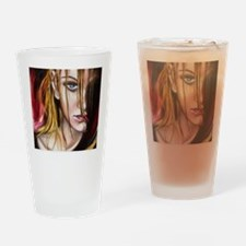 The Truth post card Drinking Glass