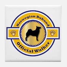 Buhund Walker Tile Coaster