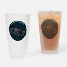 Burn up the road Drinking Glass