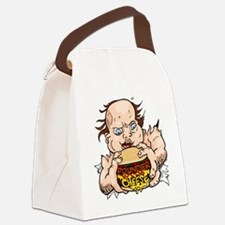 Hungry Sweaty Baby Canvas Lunch Bag