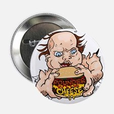 """Hungry Sweaty Baby 2.25"""" Button"""