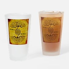 As Above So Below Color Print Drinking Glass