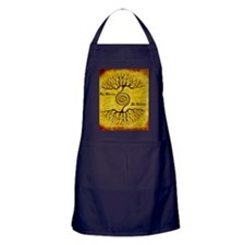 As Above So Below Color Print Apron (dark)