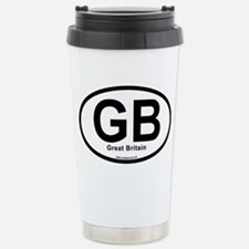 GB - Great Britain oval Travel Mug