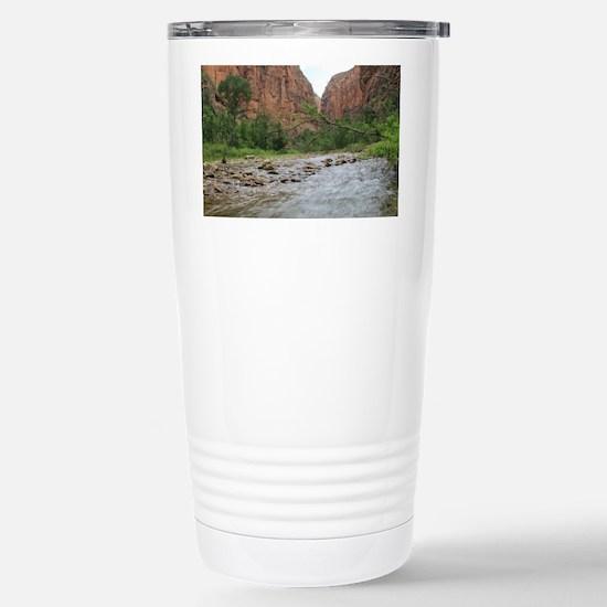 Zion Riverwalk Stainless Steel Travel Mug