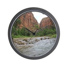 Zion Riverwalk Wall Clock