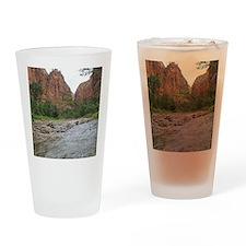 Zion Riverwalk Drinking Glass