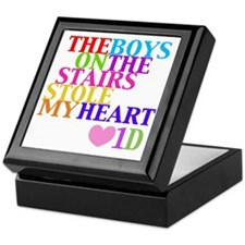 The Boys on the Stairs Stole My Heart Keepsake Box