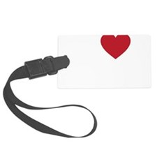 I Love Minsk Luggage Tag