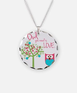 Owl You Need is Love Necklace