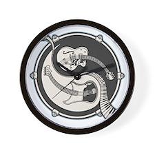 yin-band-T Wall Clock