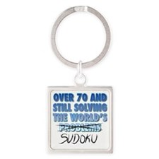 Solving the World's Sudoku Square Keychain