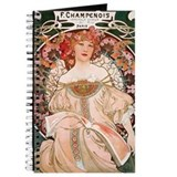 Mucha Journals & Spiral Notebooks