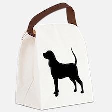 coonhoundbiz Canvas Lunch Bag