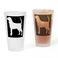 btcoonhoundpatch Drinking Glass