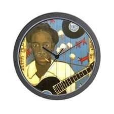 Robert Johnson Hell Hound On My Trail Wall Clock