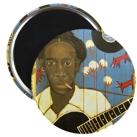 Robert Johnson Hell Hound On My Trail Magnet