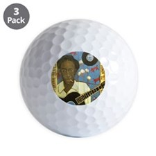 Robert Johnson Hell Hound On My Trail Golf Ball