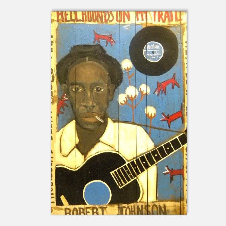 Robert Johnson Hell Hound Postcards (Package of 8)