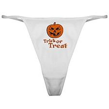 halloween Pumpkin Classic Thong