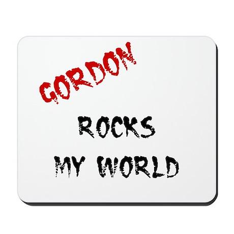Gordon Rocks Mousepad