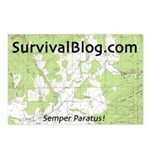 SurvivalBlog Postcards (Pack of 8) - Sold at COST