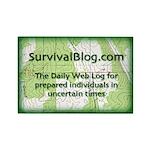 SurvivalBlog Magnet (100 pack) - Sold at COST