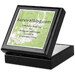 SurvivalBlog Alderwood Ammo Box - Tile Top