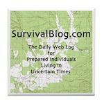 SurvivalBlog Tile Coaster