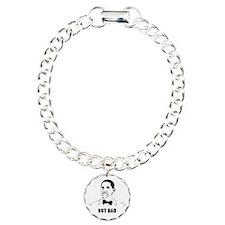 Obama Not Bad Shirt Charm Bracelet, One Charm
