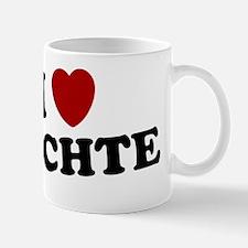 I LOVE LOCHTE SHIRT TEE SWIMMING SHIRT Mug