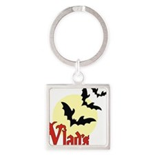 Vlads (Pale Moon) Square Keychain