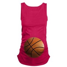 BASKETBALL BELLY Maternity Tank Top