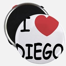 I heart DIEGO Magnet