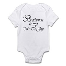 Beethoven Ode To Joy Infant Bodysuit
