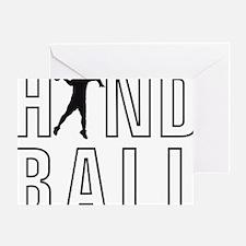 Handball Greeting Card