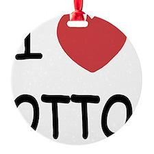 I heart OTTO Ornament