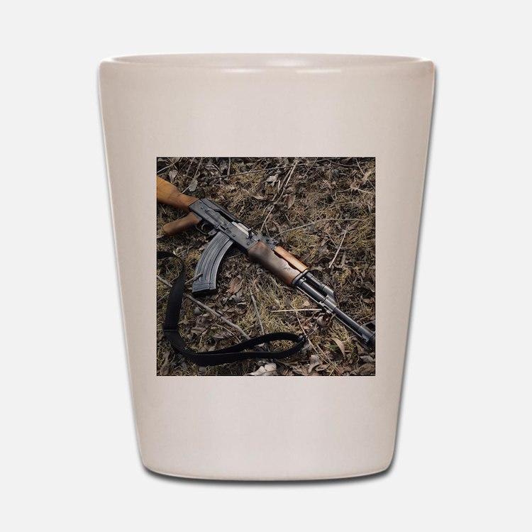 AK 47 Shot Glass